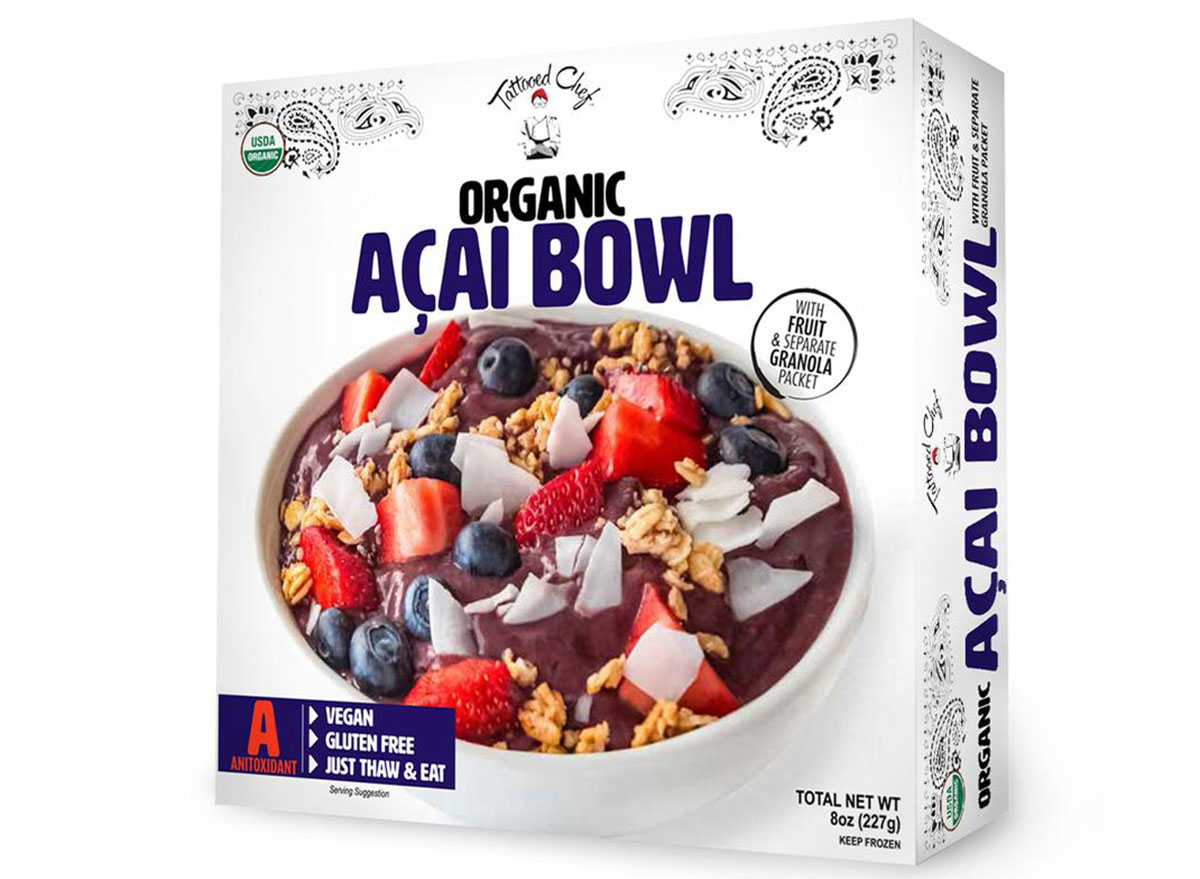 organic acai bowl