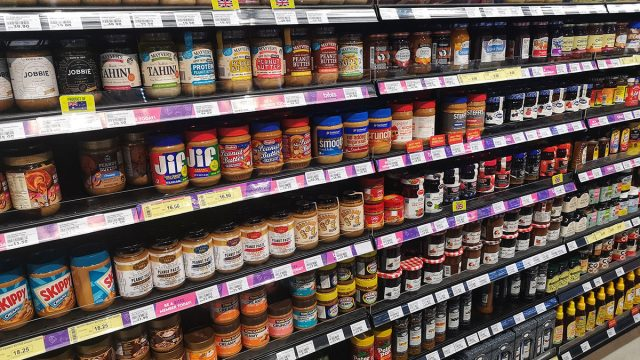 peanut butter aisle