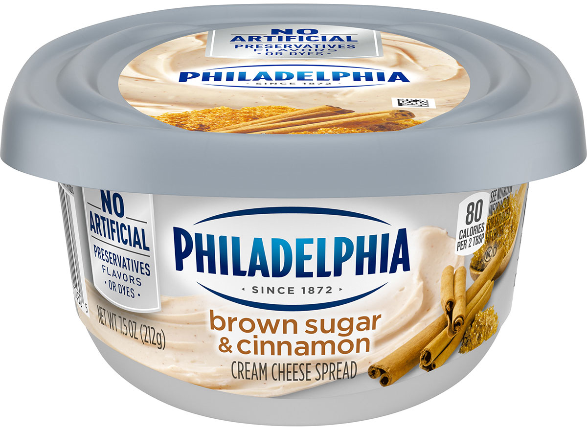 philadelphia brown sugar cinnamon