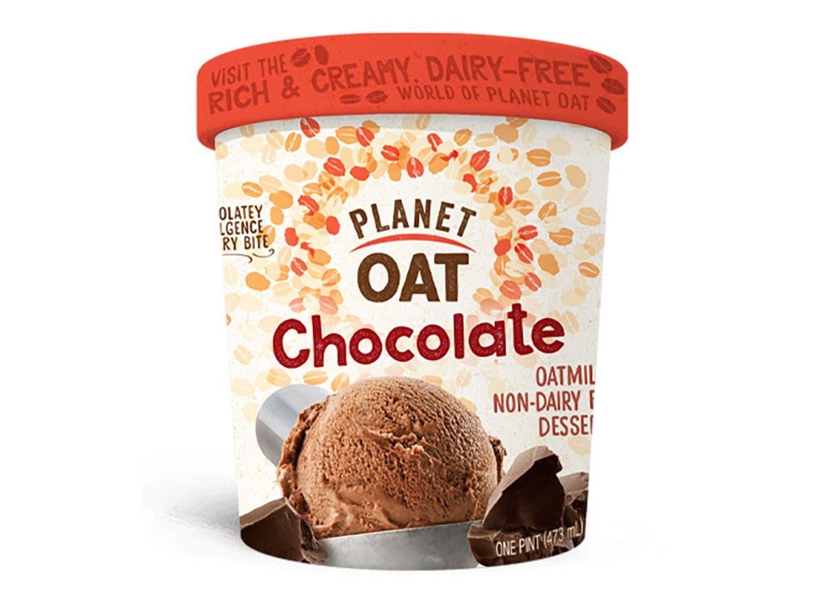 pint of planet oat frozen non dairy dessert