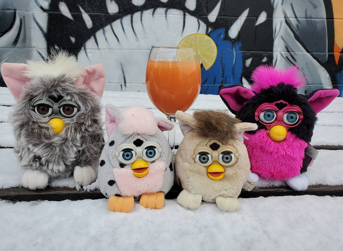 furby toys and cocktail