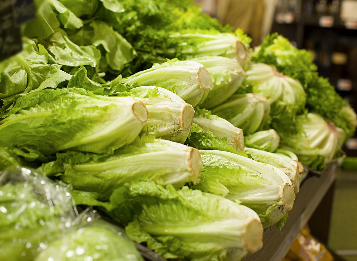 romaine lettuce grocery store