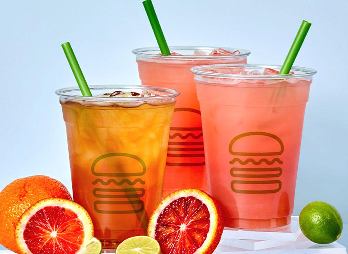 shake shack lemonade