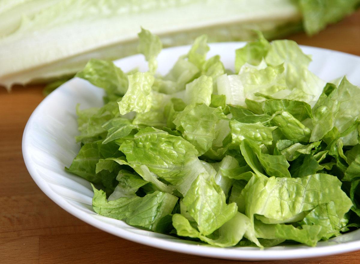 shredded romaine lettuce