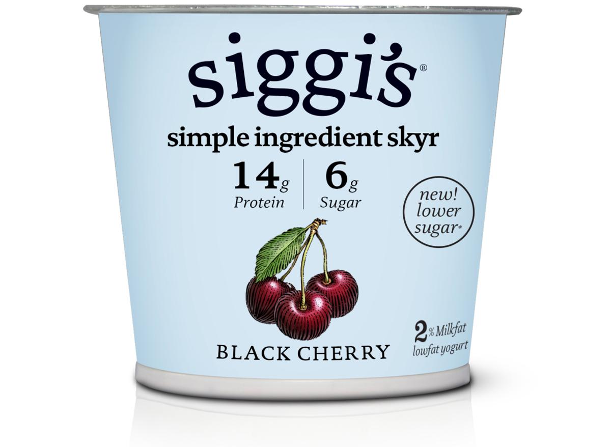 siggis low fat black cherry