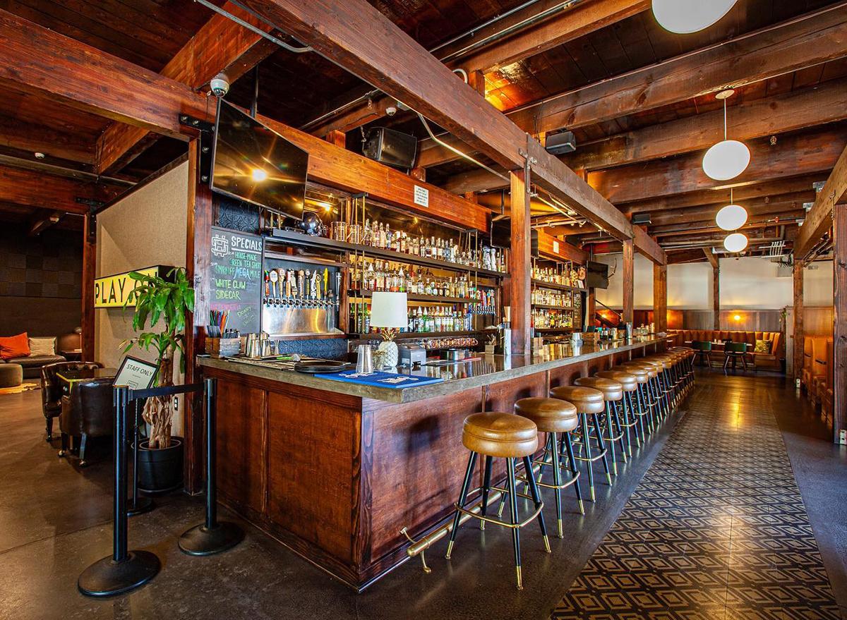 bar at social hall in tempe arizona