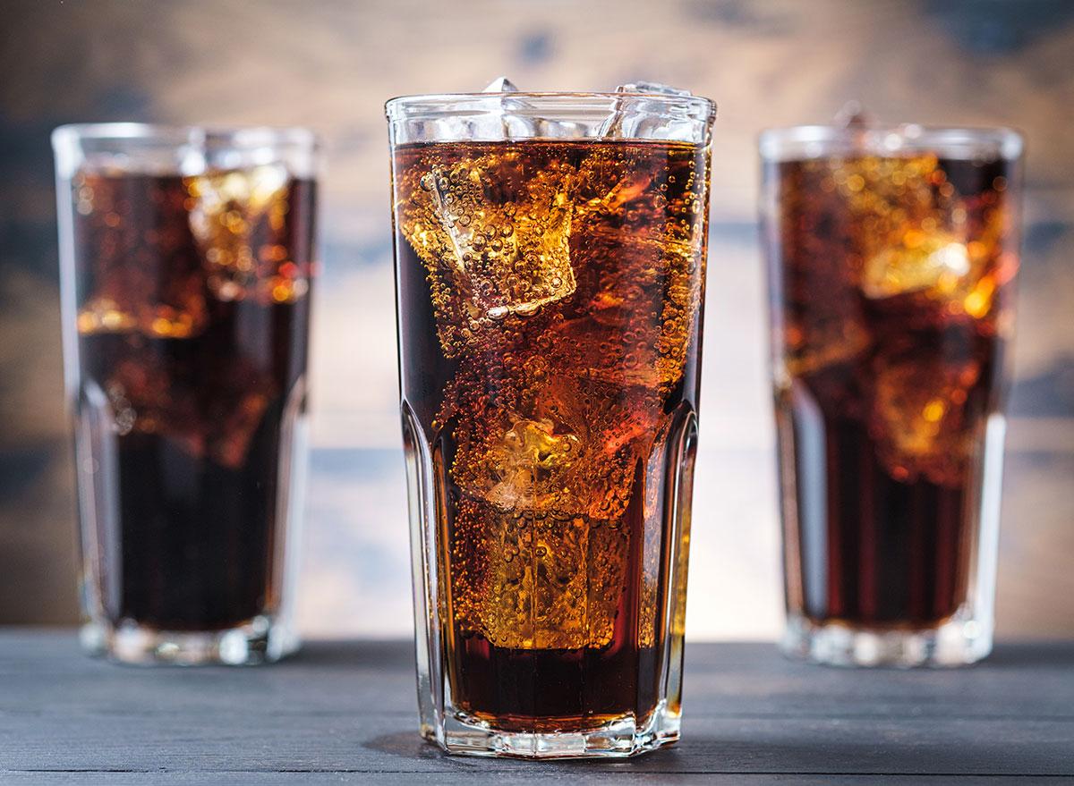 soda glasses