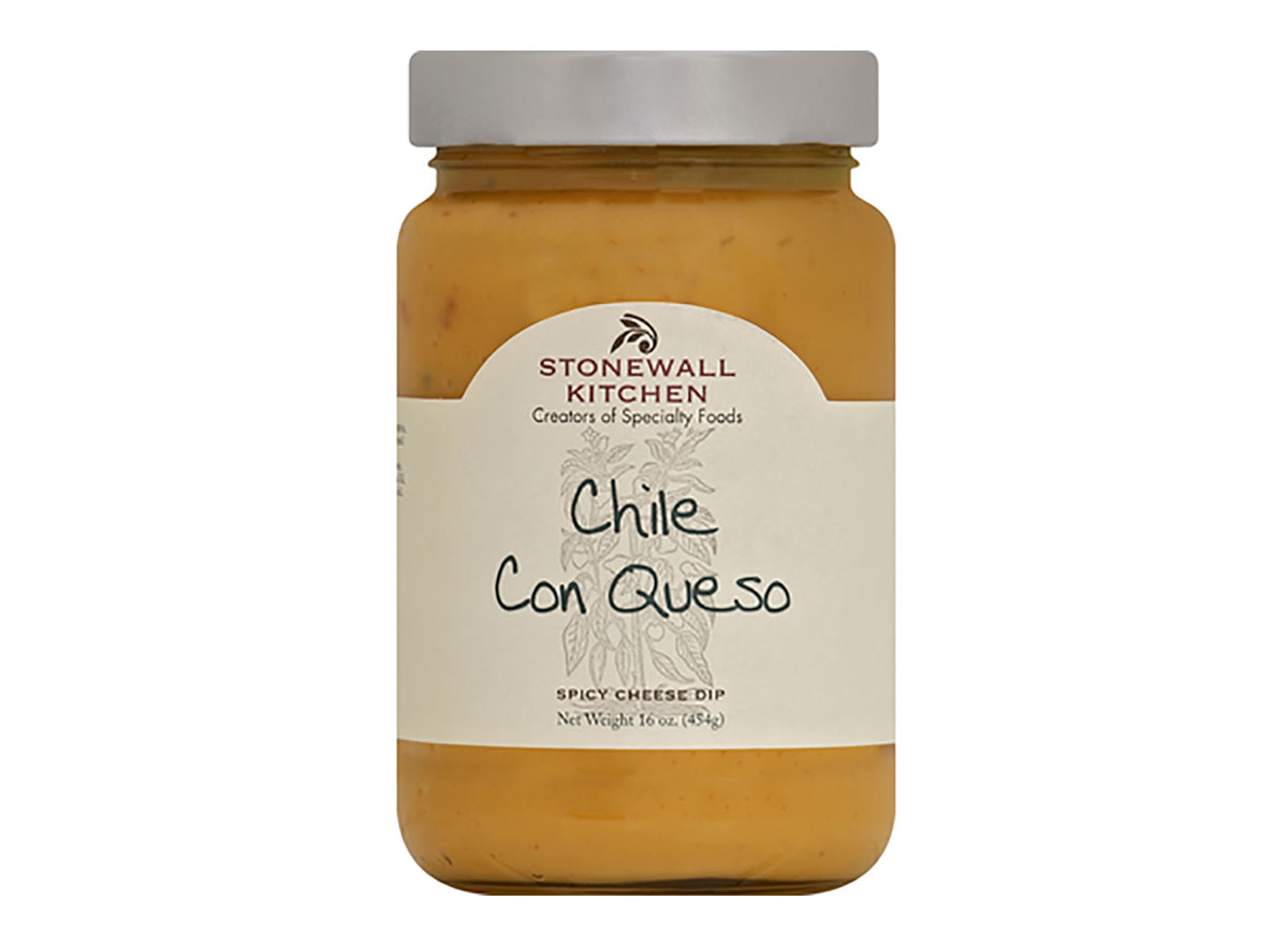 jar of stonewall kitchen chile con queso