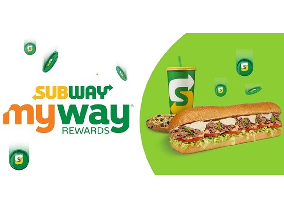 subway rewards