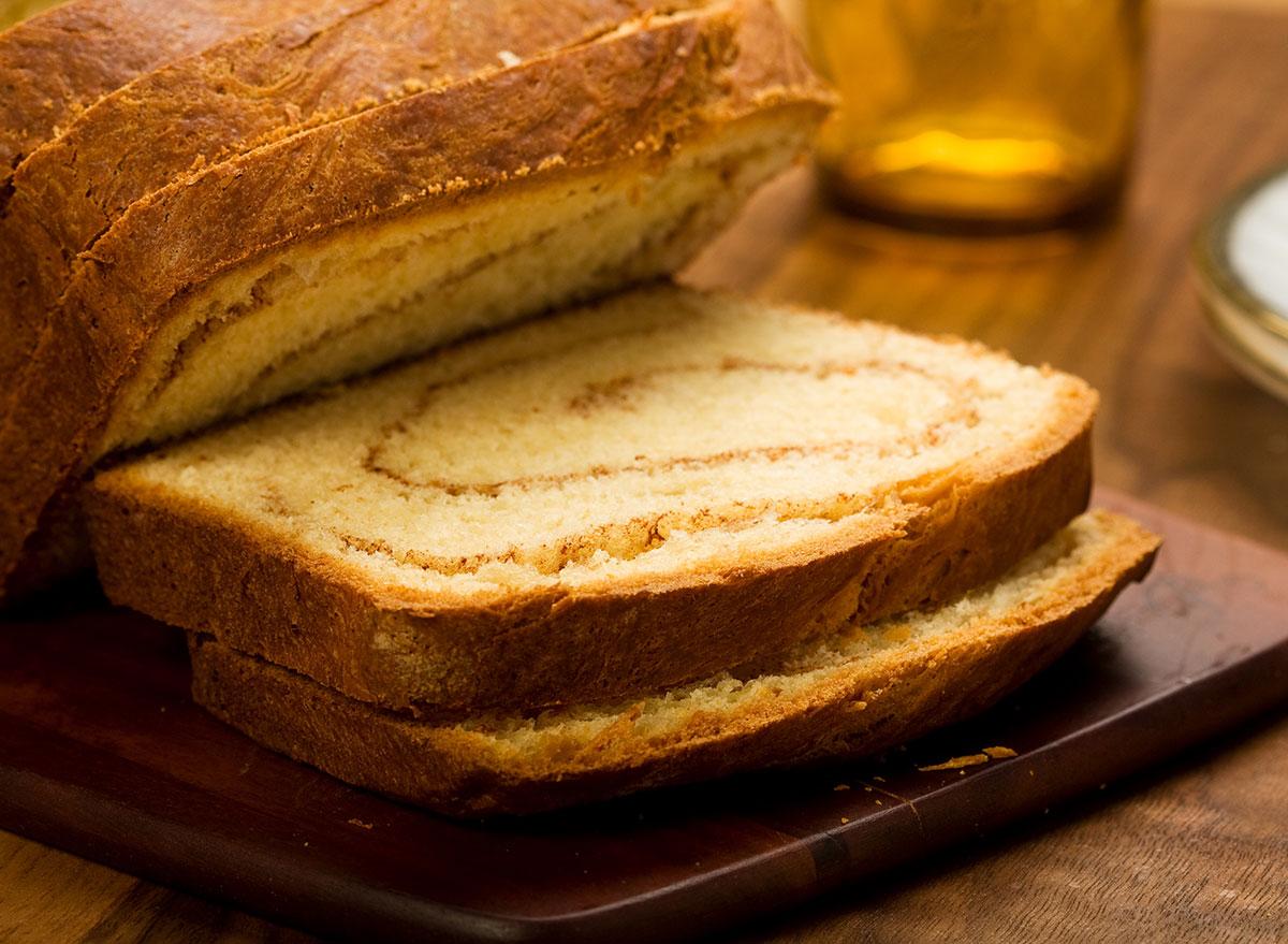 swirled bread