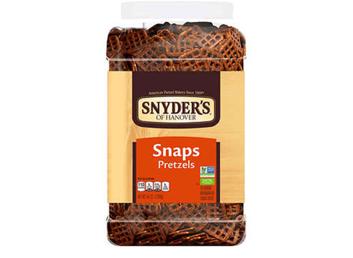 synders snaps pretzels