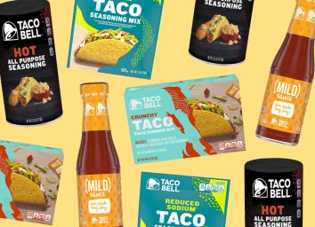 taco bell best grocery products