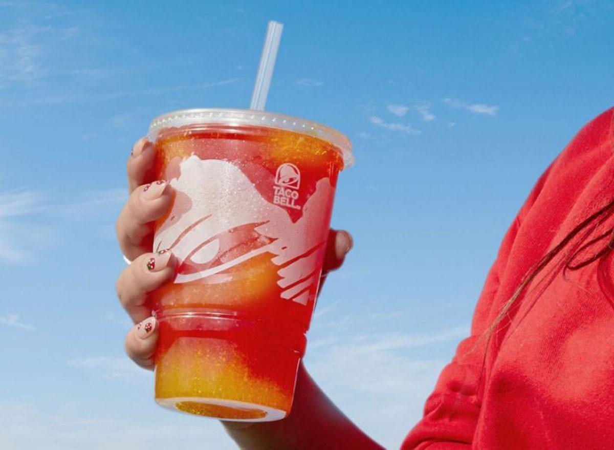 taco bell strawberry lemonade freeze