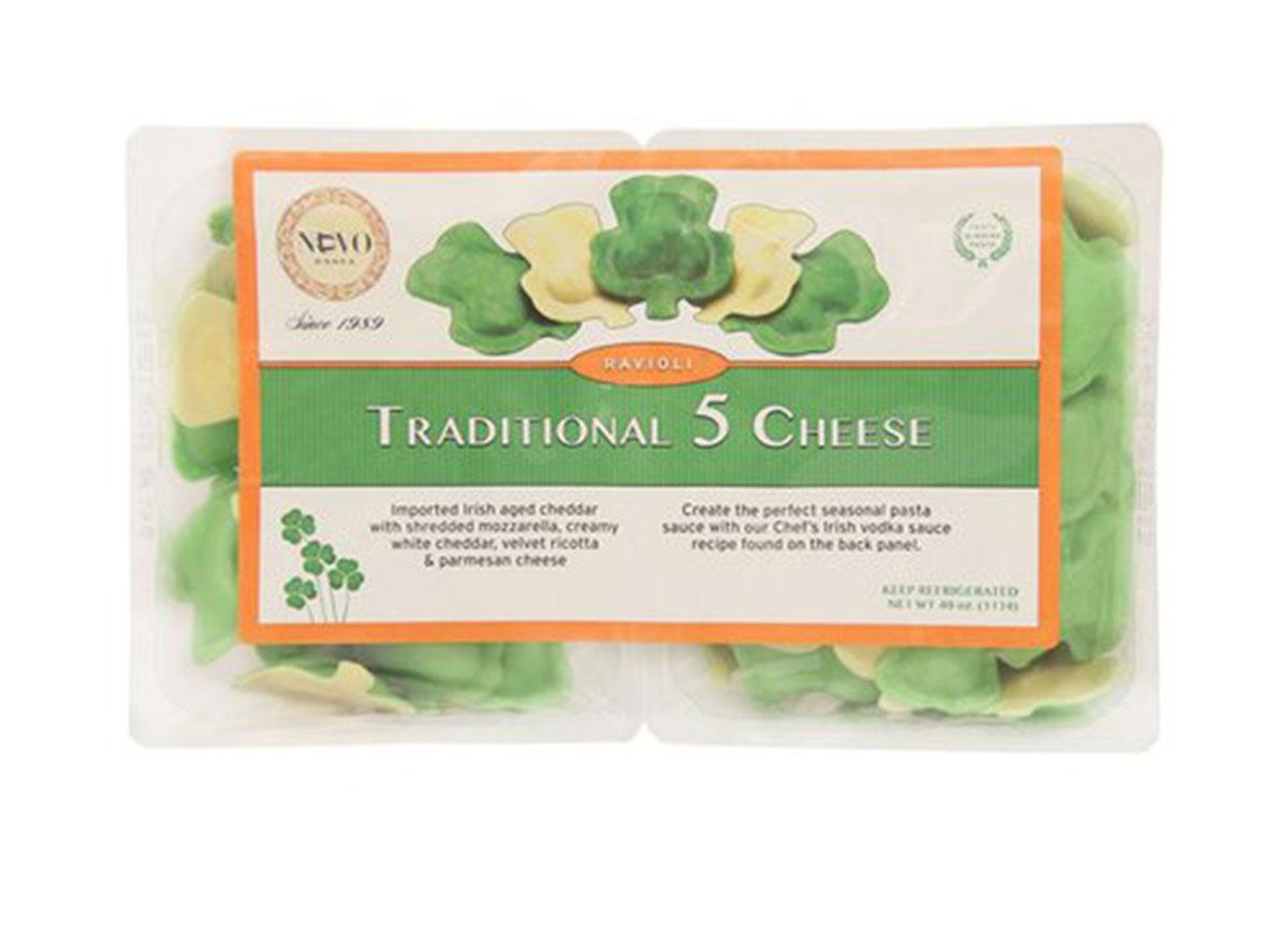 traditional 5 cheese ravioli
