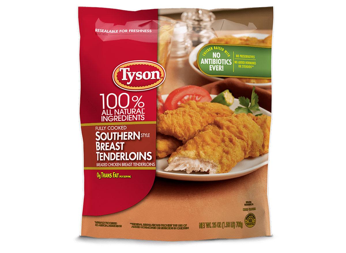 tyson southern chicken tenderloins