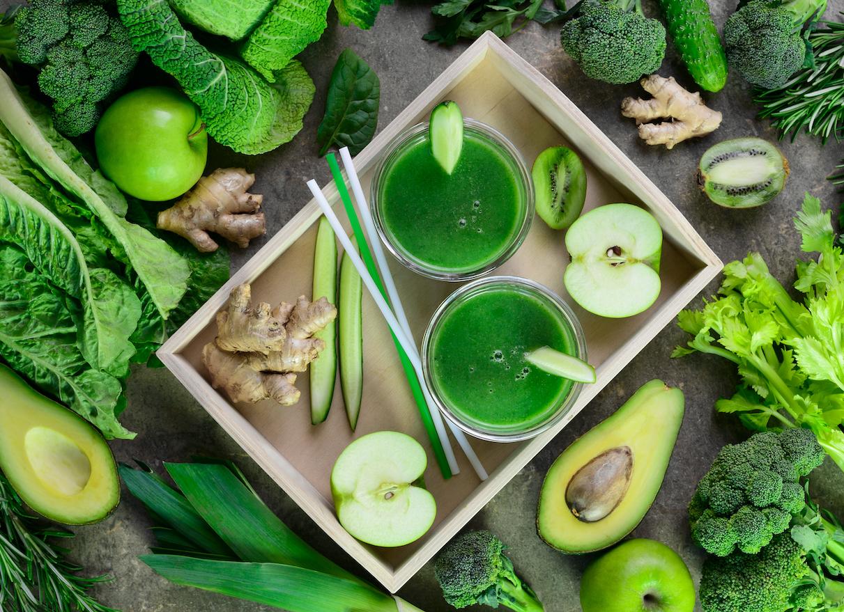 chlorophyll water avocado