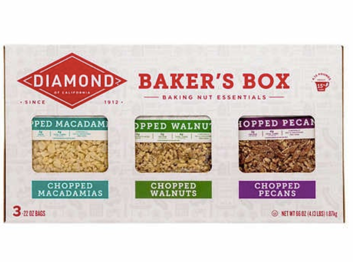 Diamond Baker's Box Baking Nut Essentials