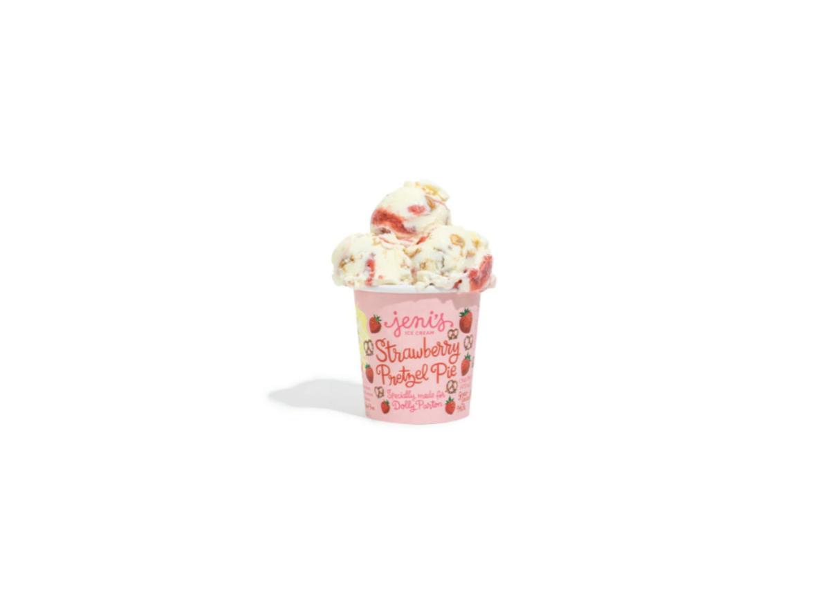 Dolly Parton Jeni's ice cream
