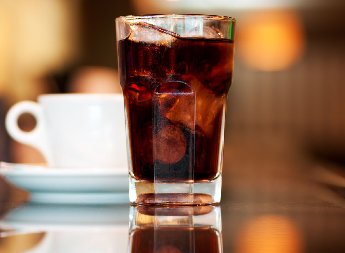 soda, coffee