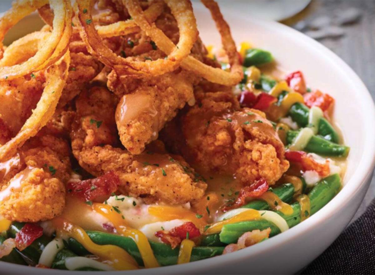applebees homestyle chicken bowl