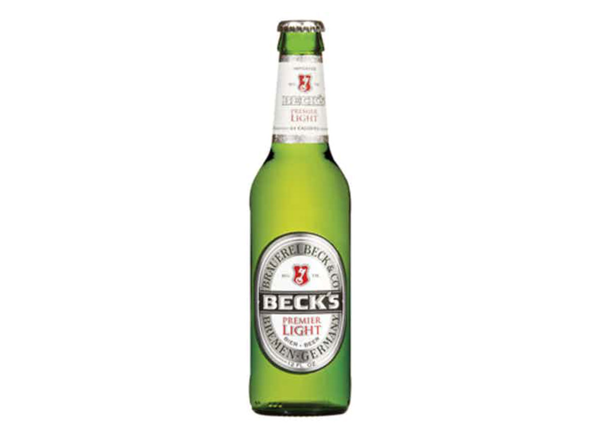 becks premier light beer