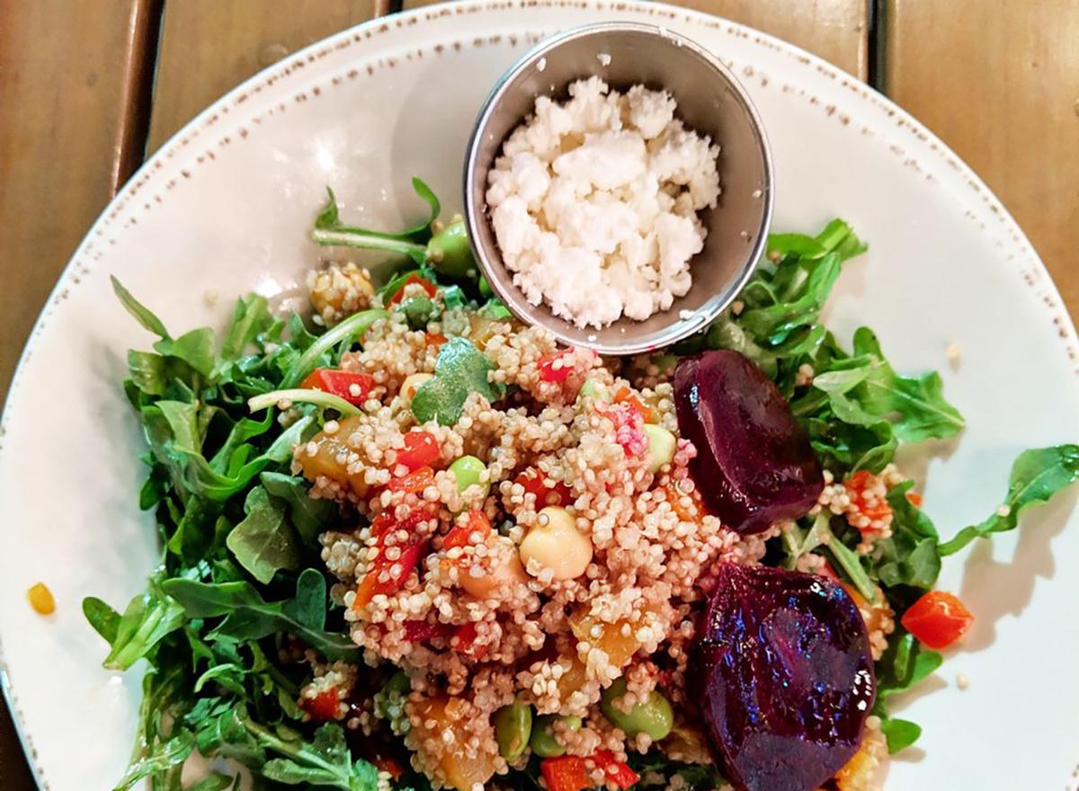 beet and quinoa salad