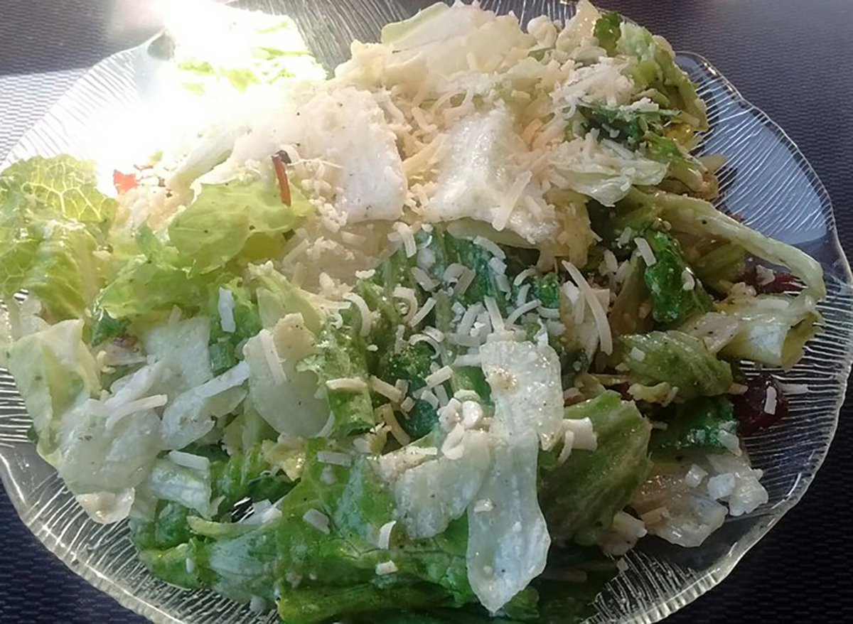 house salad from bella milano