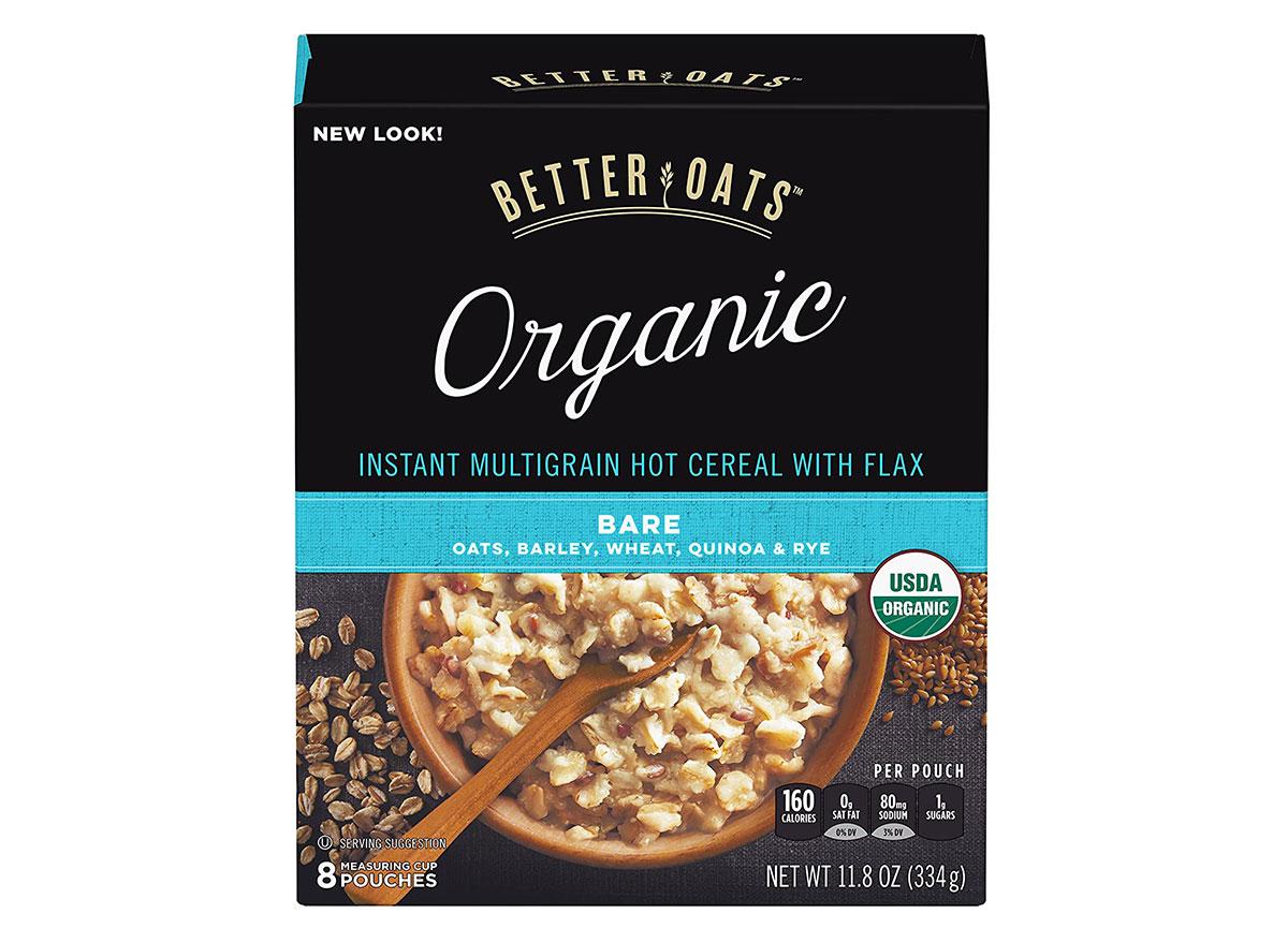 better oats bare oatmeal