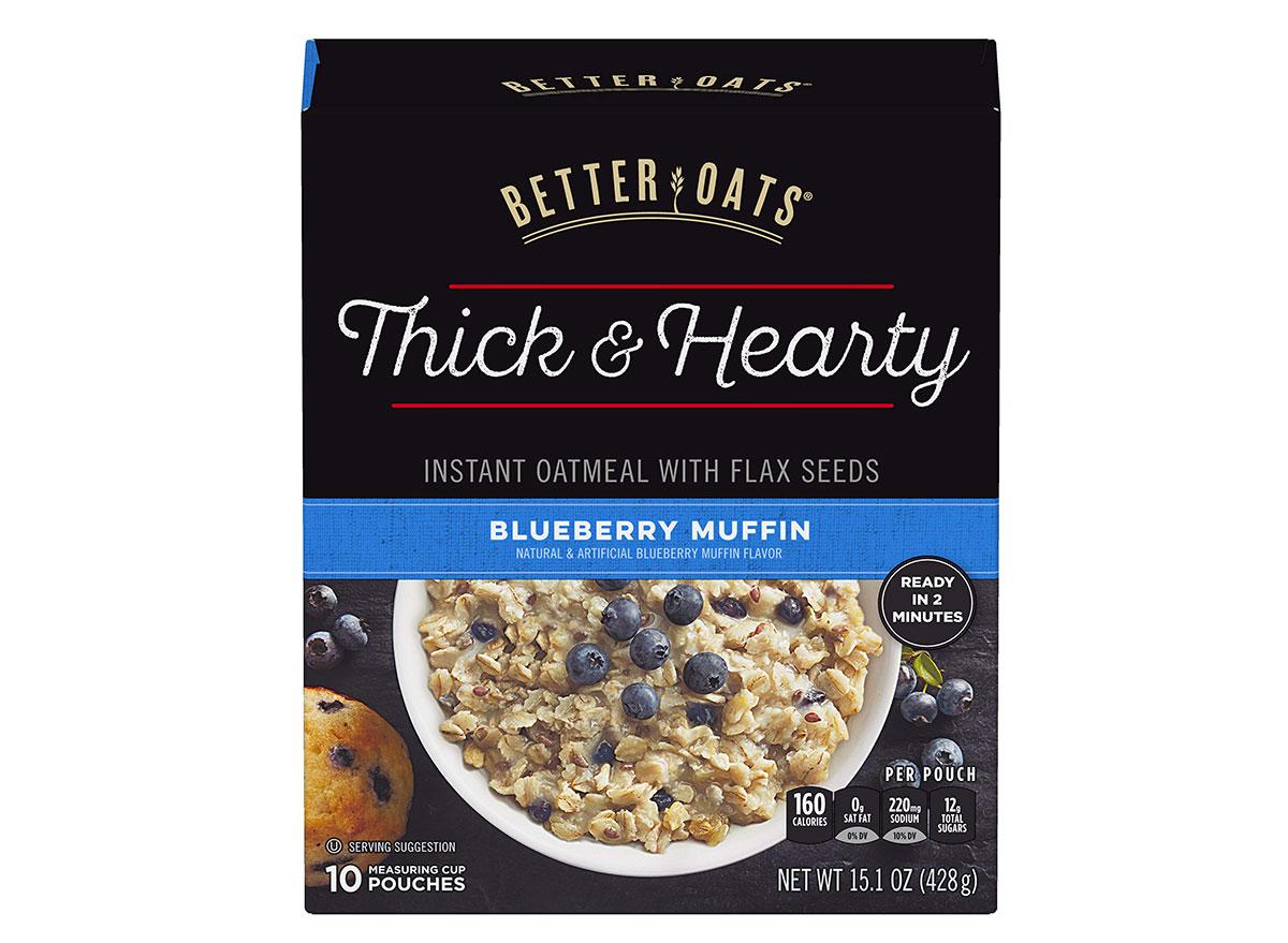 better oats blueberry muffin