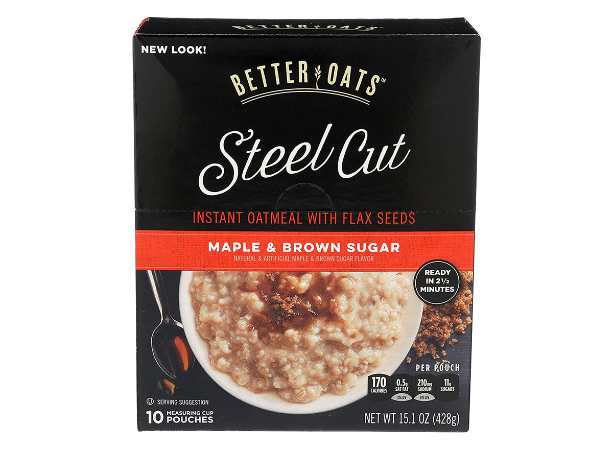 better oats maple and brown sugar