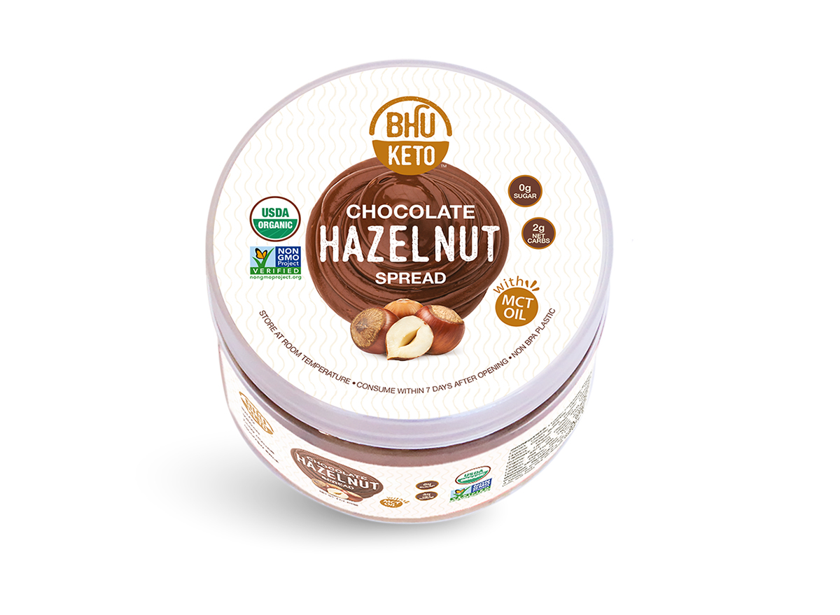 bh foods keto chocolate hazelnut spread