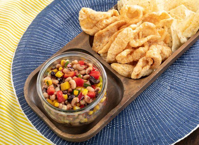 black eyed peas corn salsa