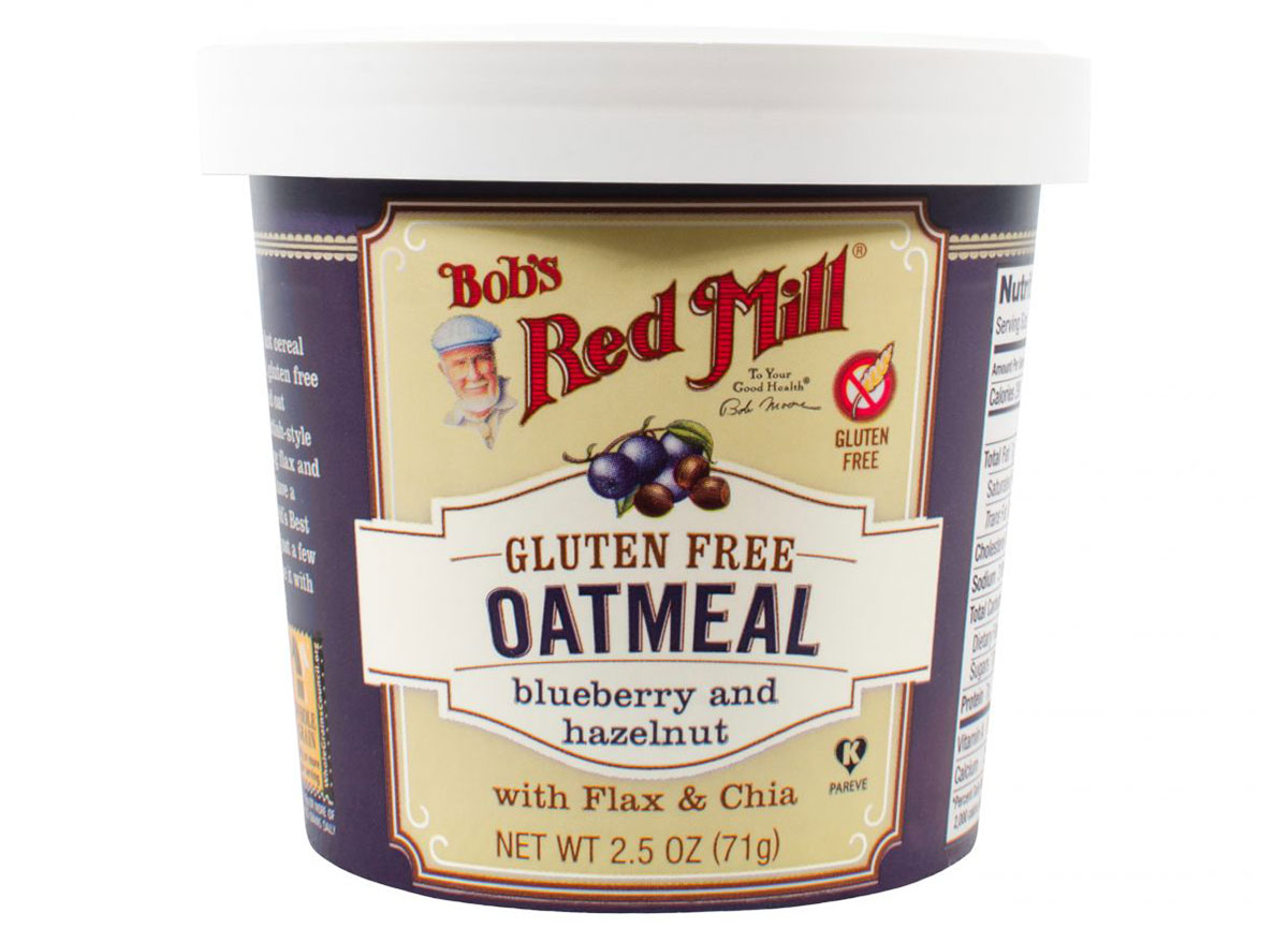 bobs red mill blueberry and hazelnut oatmeal