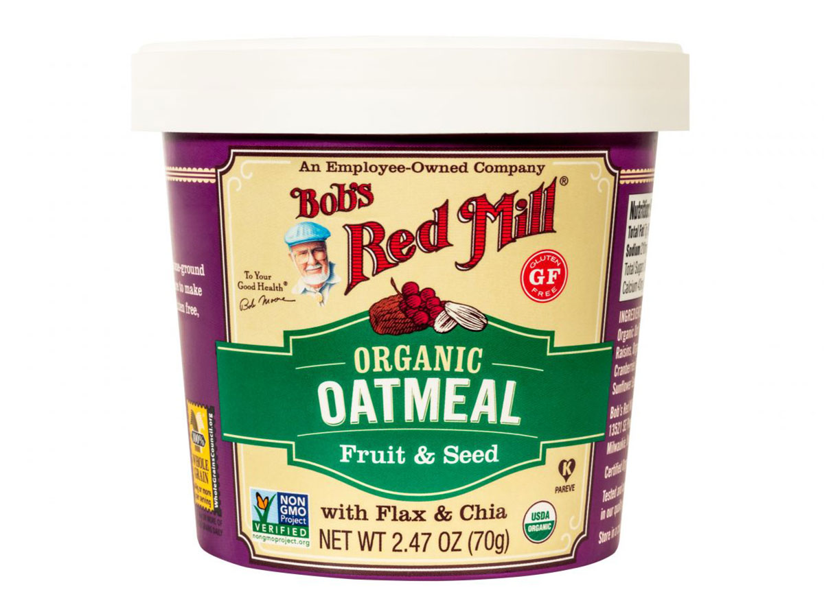 bobs red mill fruit and seed oatmeal