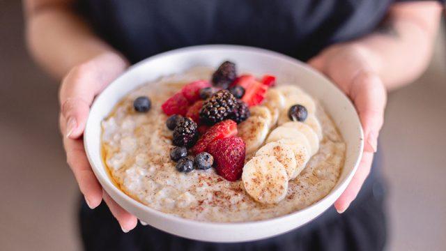 bowl oatmeal