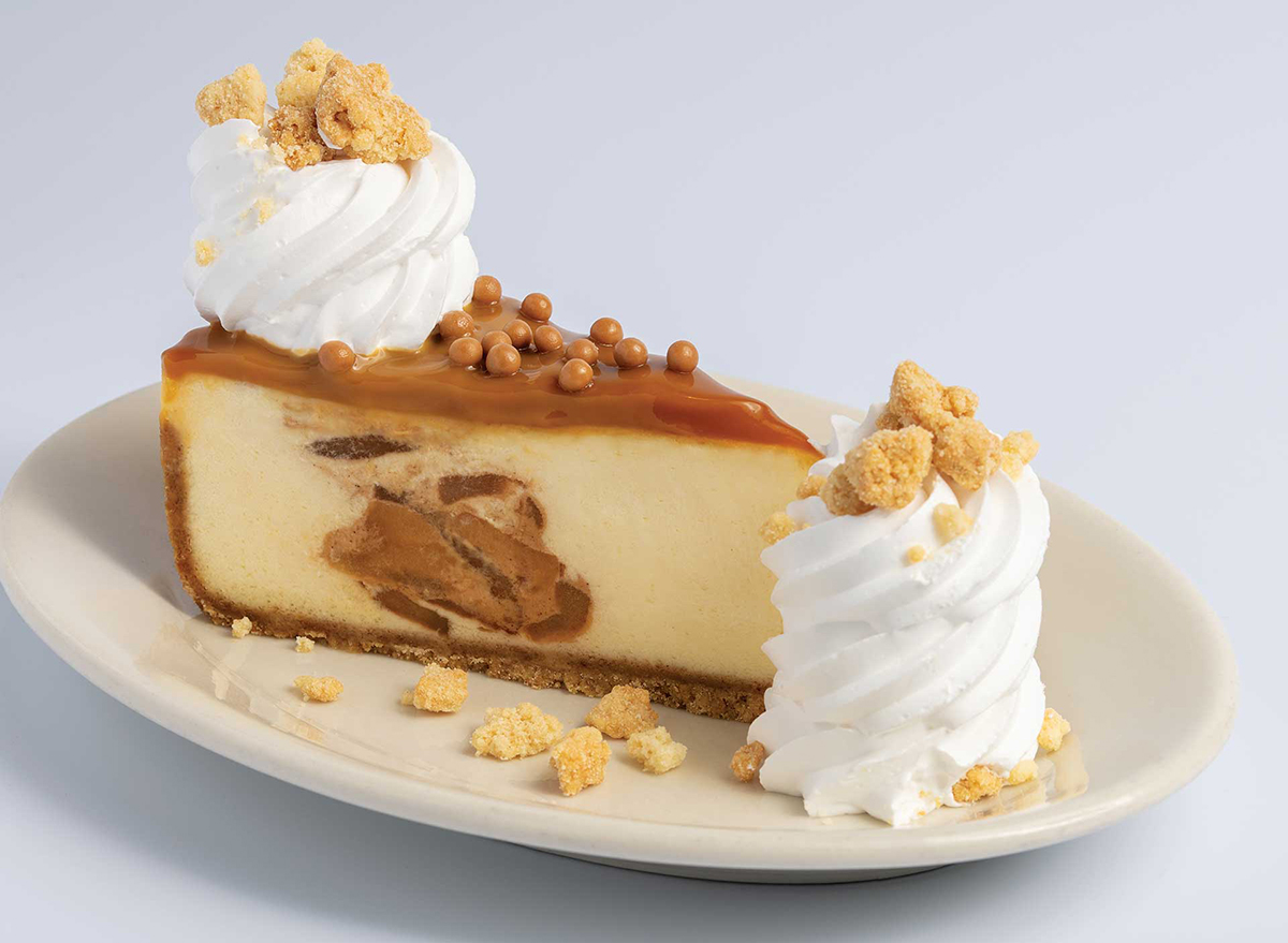 cheesecake factory caramel apple cheesecake