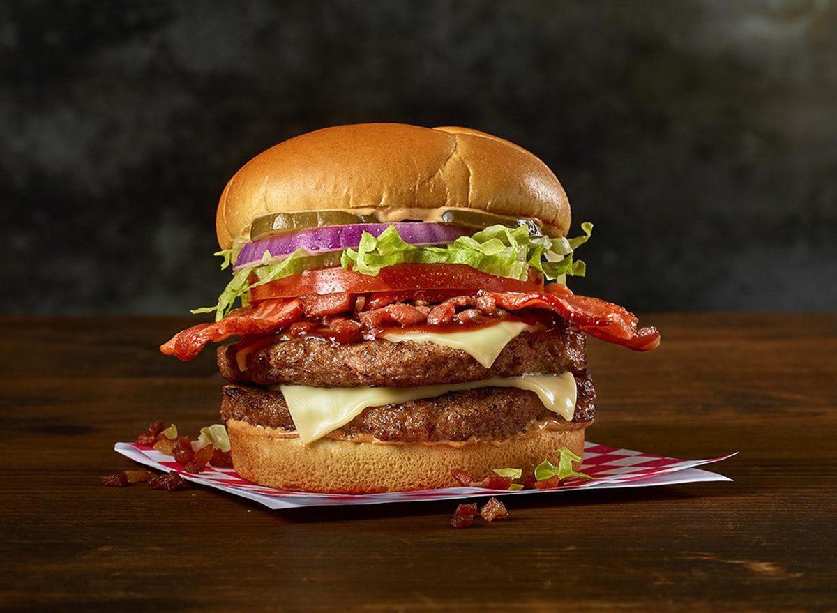 smoky bbq bacon buford burger