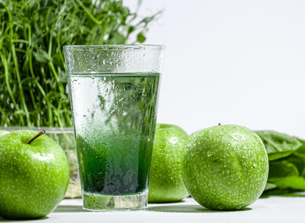 chlorophyll water veggies
