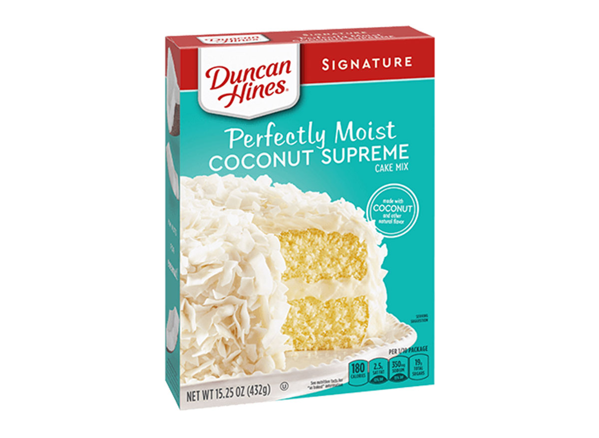 coocnut supreme cake mix