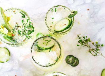 cucumber jalapeno margarita