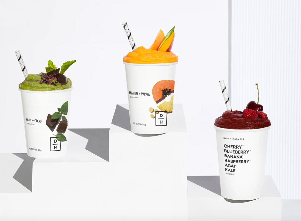 daily harvest smoothie cups