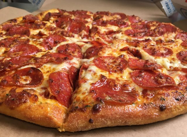 dominos personal pizza pepperoni