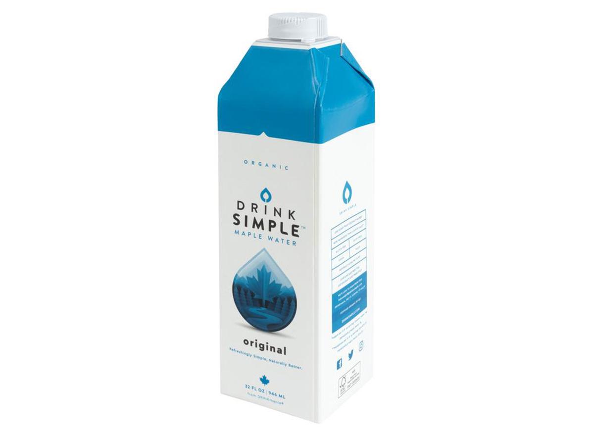 drink simple maple water