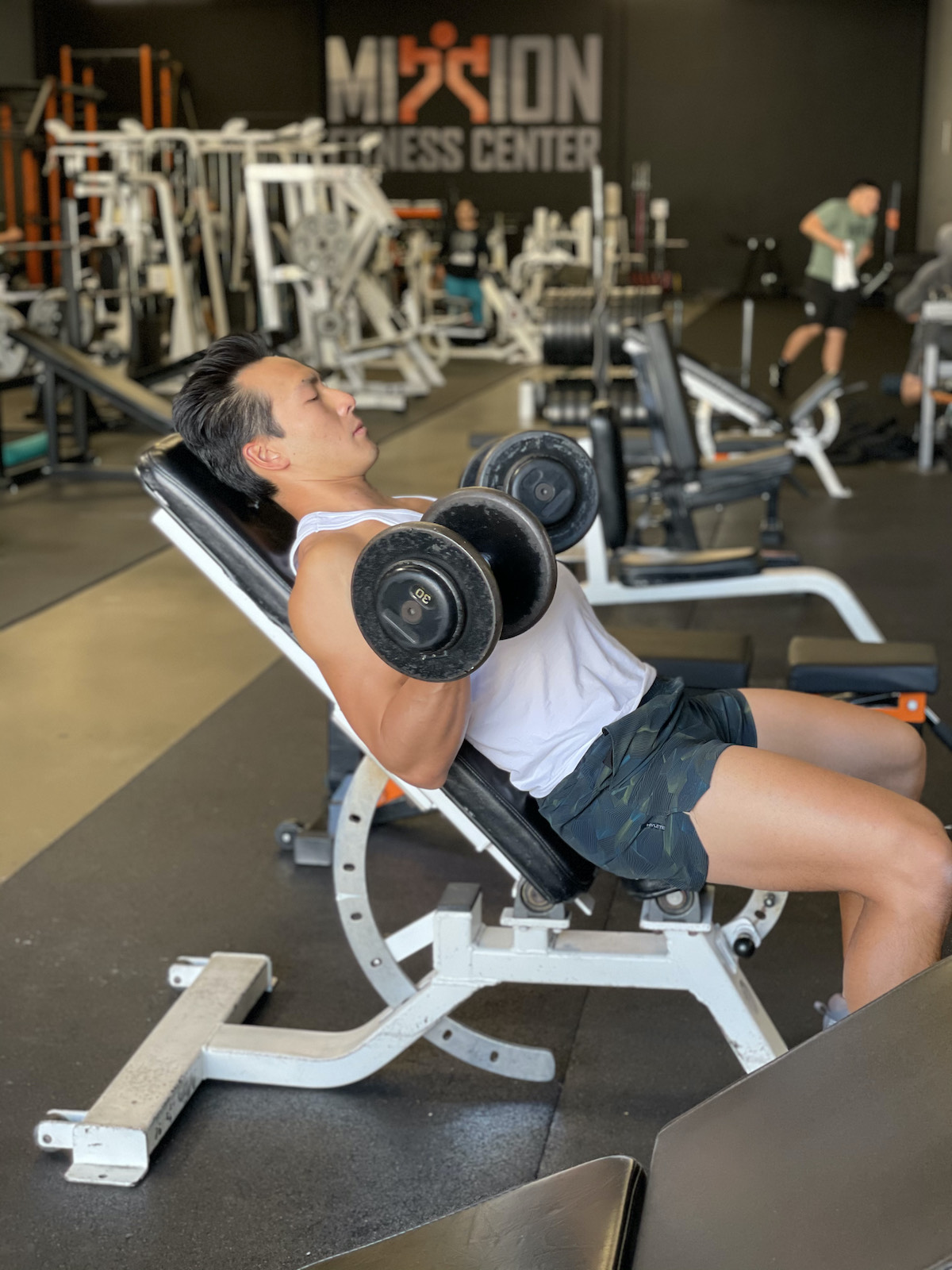 tim liu dumbbell curl completion
