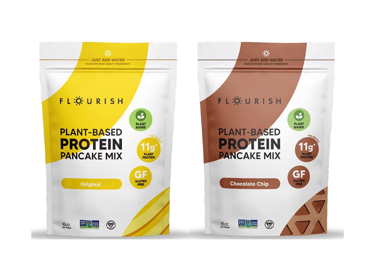 flourish protein pancake mix