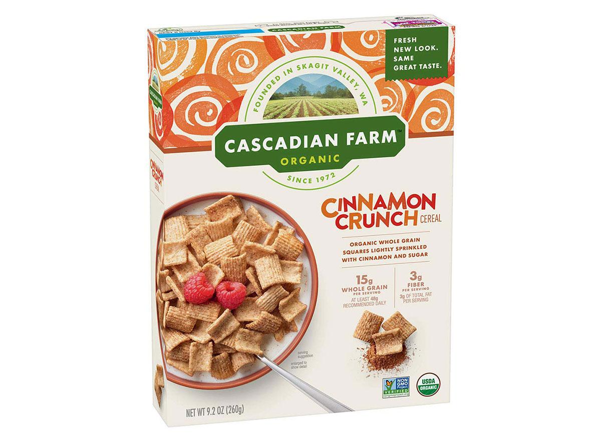 general mills cascadian farms cinnamon crunch