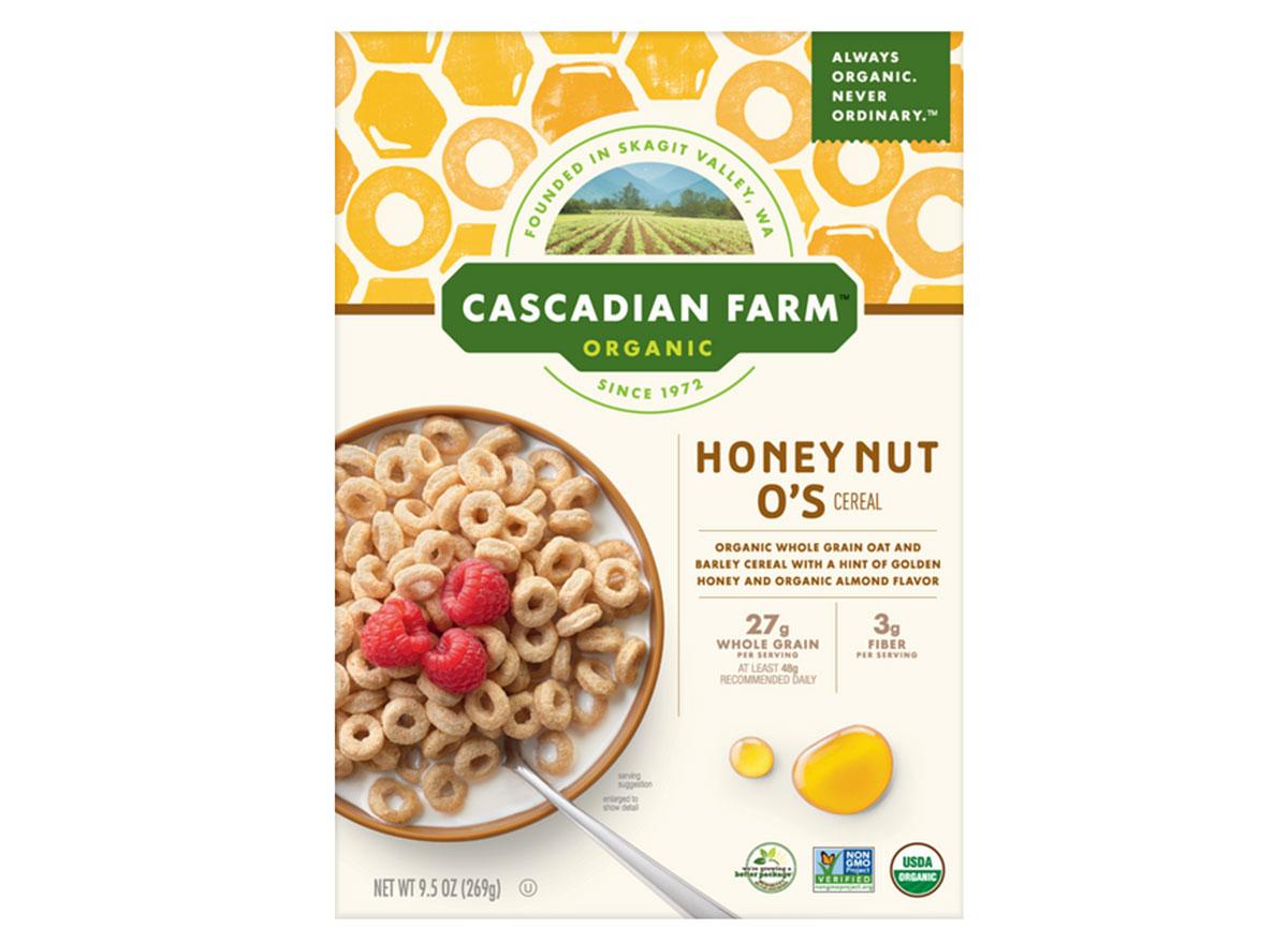 general mills cascadian farms honey nut os