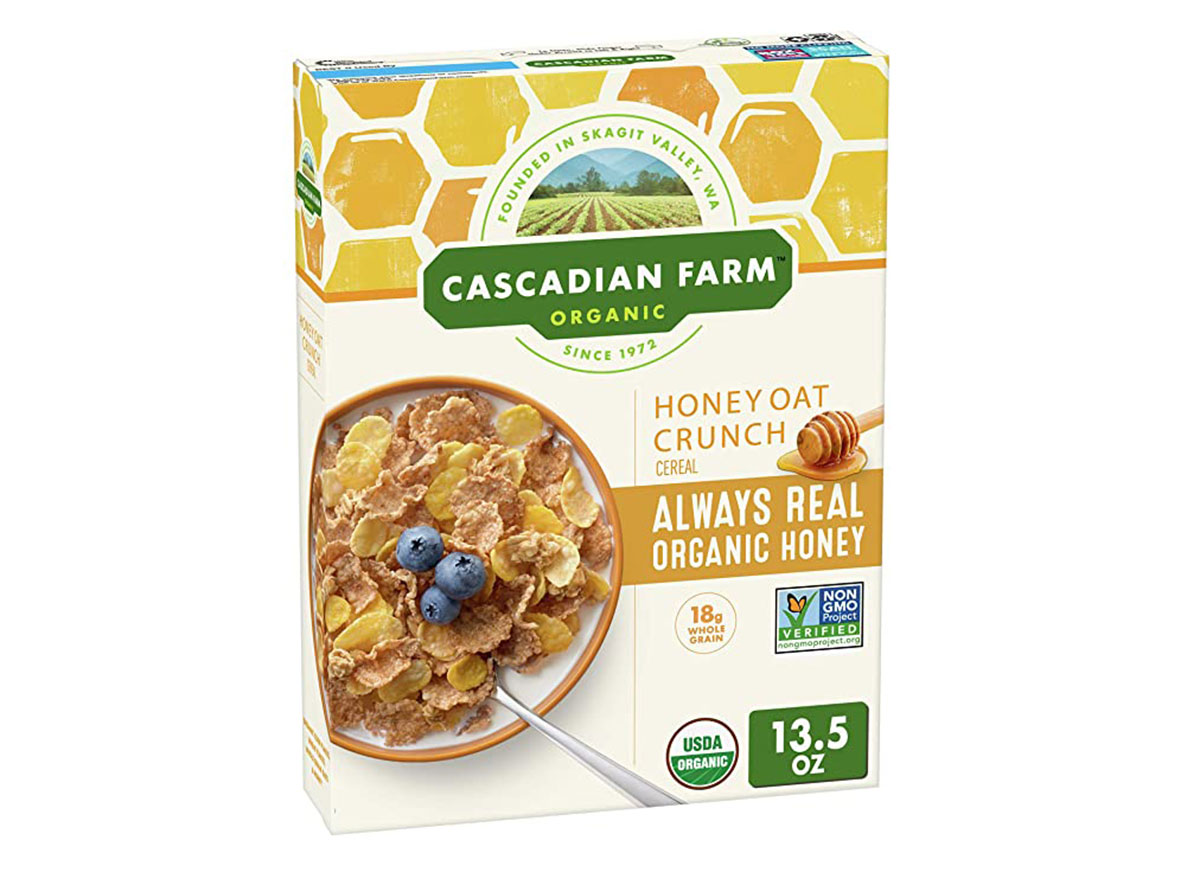 general mills cascadian farms honey oat crunch