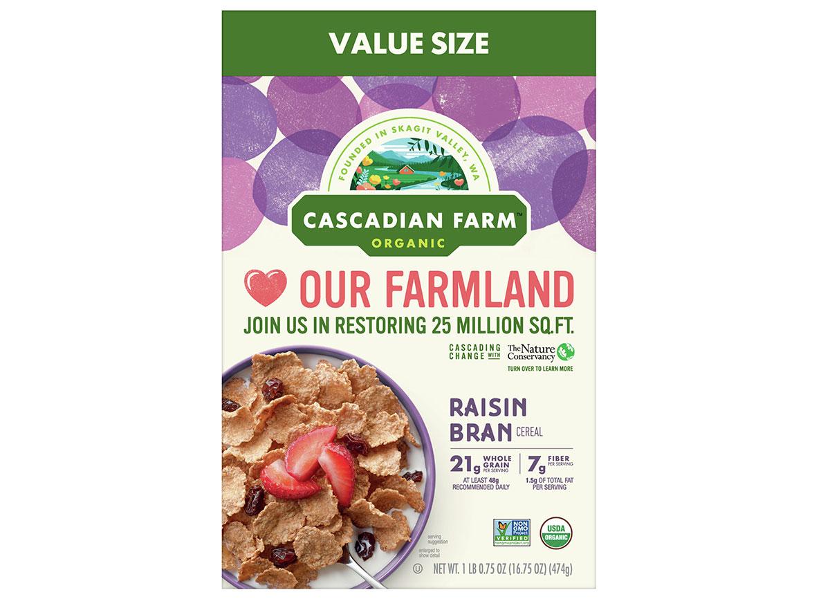 general mills cascadian farms raisin bran