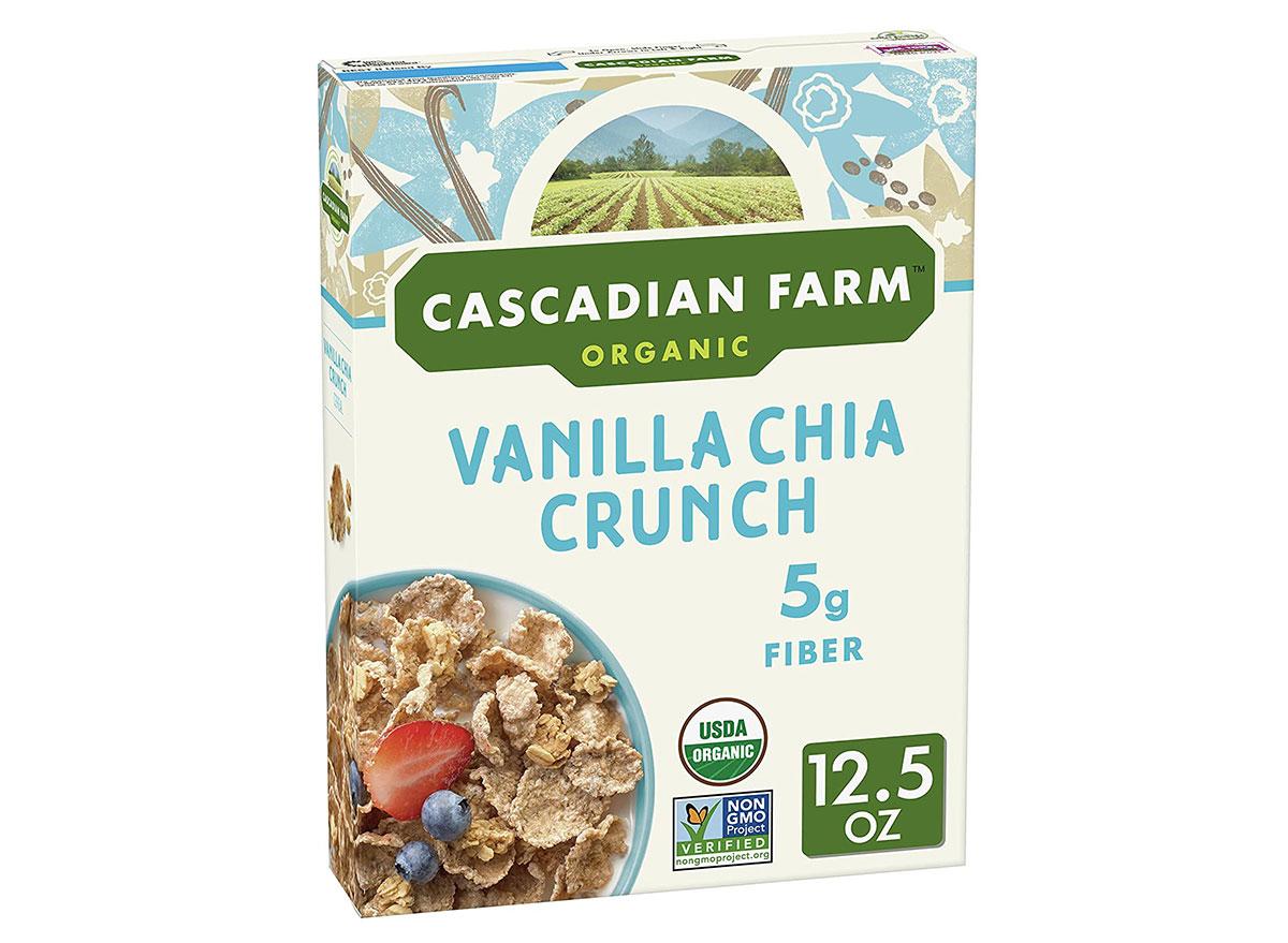 general mills cascadian farms vanilla chia crunch